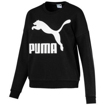 Puma HoodiesClassics Logo Crew schwarz
