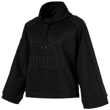 Puma SweaterDowntown Winterized Crew schwarz
