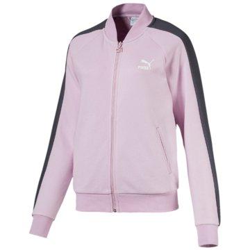 Puma HoodiesClassics T7 Track Jacket rosa