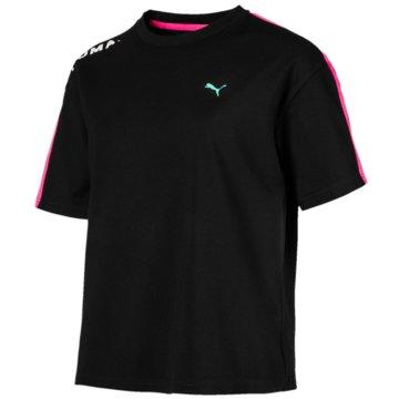 Puma FunktionsshirtsChase T-Shirt schwarz