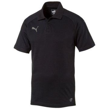 Puma PolosAscension Casuals Poloshirt Herren schwarz -