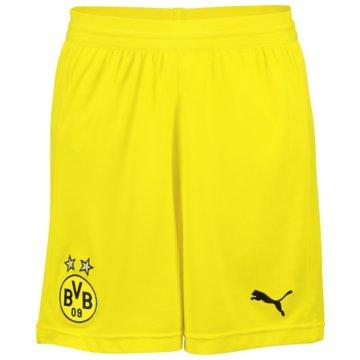 Puma Fan-HosenBorussia Dortmund Home Shorts 2018/19 gelb