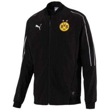 Puma FanartikelBorussia Dortmund Leisure Jacket schwarz