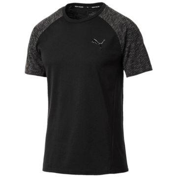 Puma T-ShirtsActive Evostripe T-Shirt schwarz