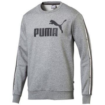 Puma SweaterTape Crew Sweatshirt grau