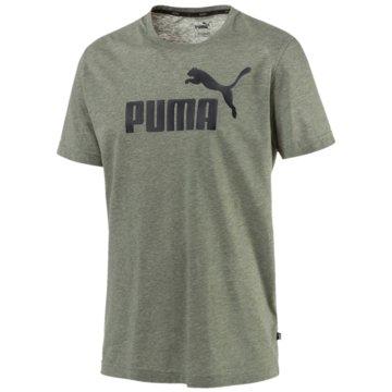 Puma T-ShirtsEssentials Heather Tee oliv