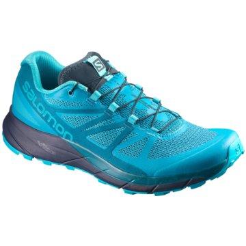 Salomon TrailrunningSense Ride Damen Laufschuhe Running blau blau