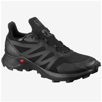 Salomon TrailrunningSUPERCROSS GTX Black/Black/Bk 10 -