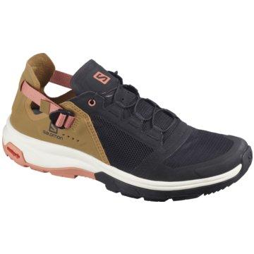 Salomon Sneaker LowSchuhe TECH AMPHIB 4 W Bk/Bistre/Ta schwarz