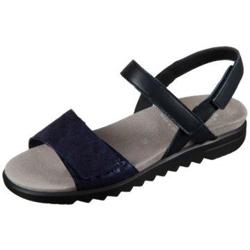 Semler Sandale blau