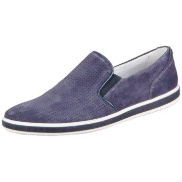Igi&Co Klassischer Slipper blau