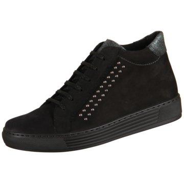 Solidus Sneaker High schwarz