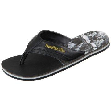 Pantofola d` Oro Bade-Zehentrenner schwarz