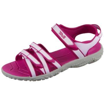 Teva Offene Schuhe rot