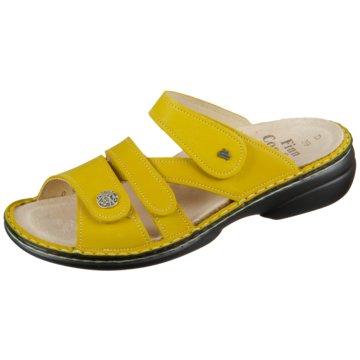 FinnComfort Komfort PantolettePantolette gelb