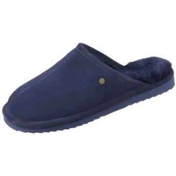Warmbat HausschuhPantolette blau