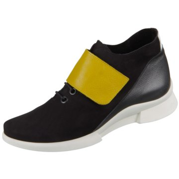 Arche Sportlicher Schnürschuh schwarz