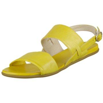 GEOX Damen klassische Sandale Gold