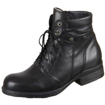 Wolky Komfort Stiefelette schwarz