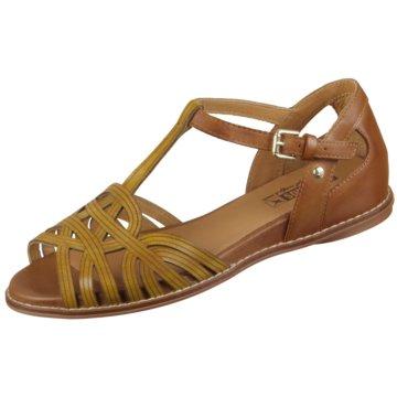 Pikolinos Komfort Sandale gelb