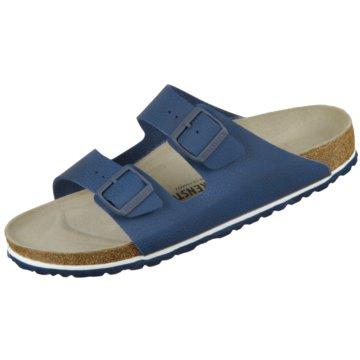 Birkenstock Pantolette blau