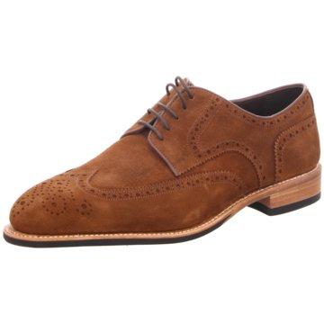 Prime Shoes Schnürschuh braun
