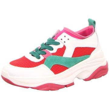 Tango Plateau Sneaker weiß