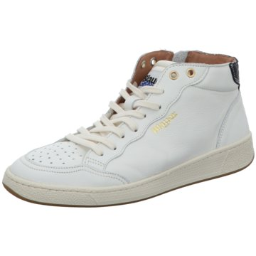 Blauer USA Sneaker High weiß