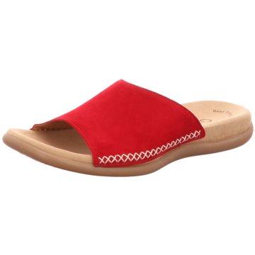 Gabor Komfort PantolettePantolette rot