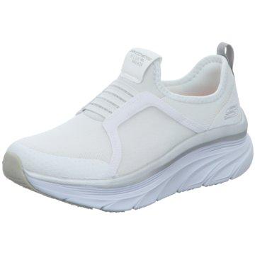 Skechers Sportlicher Slipper weiß