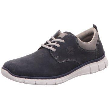 Rieker Komfort SchnürschuhSneaker blau