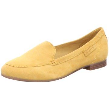 Bugatti Klassischer Slipper gelb