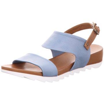 MACA Kitzbühel Sandalette blau