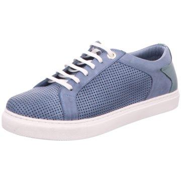 BOXX Sportlicher Schnürschuh blau