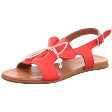 MACA Kitzbühel Sandale rot