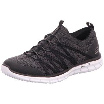 Skechers Sneaker LowGLIDER - TUNEFUL - 22874 BKW grau