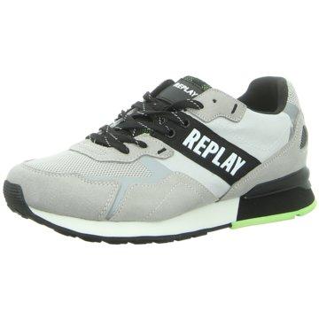 Replay Sneaker LowBowland grau
