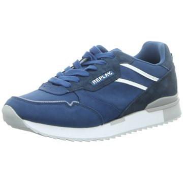 Replay Sneaker LowKeane blau