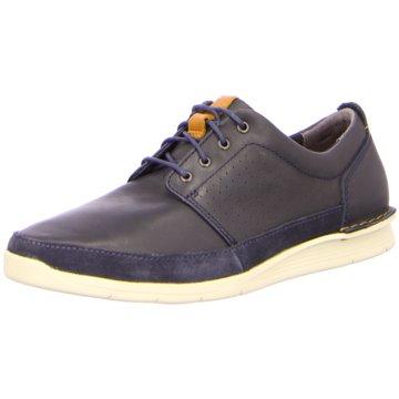 Clarks Sneaker Low grau