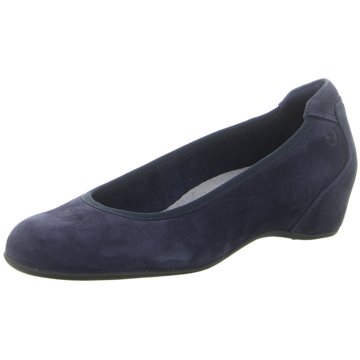 Tamaris Komfort Pumps blau