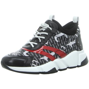 Tizian Sneaker LowDuino 03 schwarz