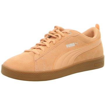 Puma Sneaker LowPuma Smash Wns orange