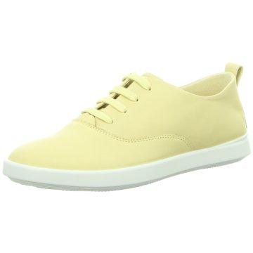 Ecco Sportlicher SchnürschuhLeisure gelb