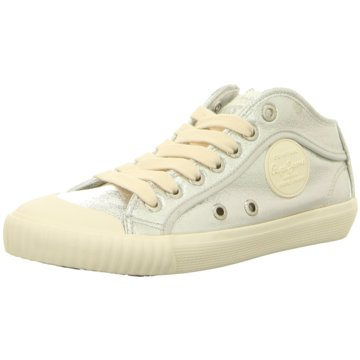 Pepe Jeans Sneaker High silber