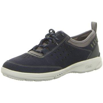 Rockport Sportlicher Schnürschuh blau