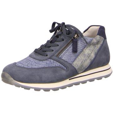 Gabor comfort Sneaker LowYork blau