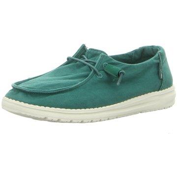 Hey Dude Shoes Mokassin SchnürschuhWendy grün