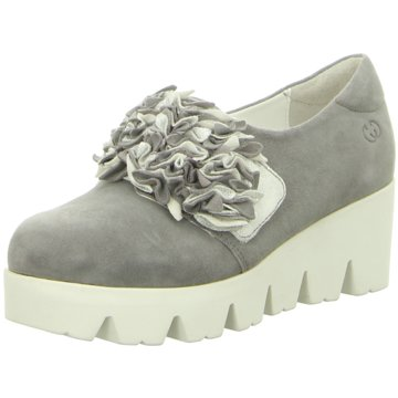 Gerry Weber Plateau Slipper grau