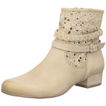Caprice Klassische Stiefelette beige
