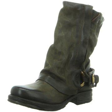 A.S.98 Biker Boot oliv